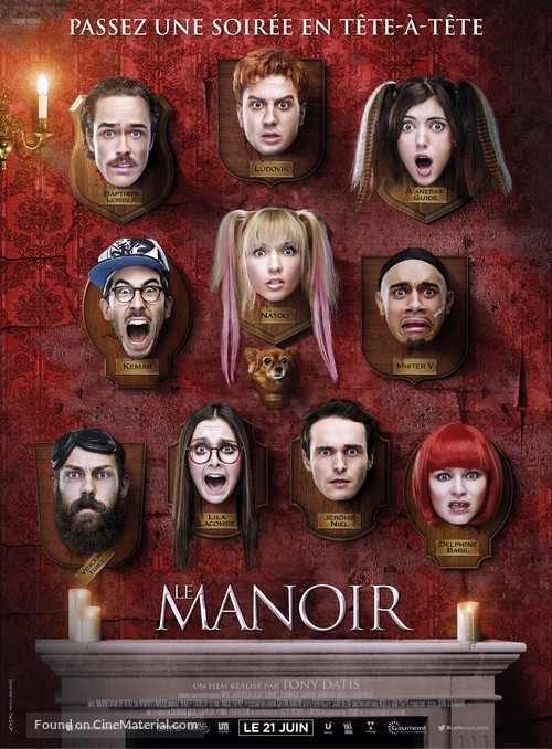 Le manoir - French Movie Poster