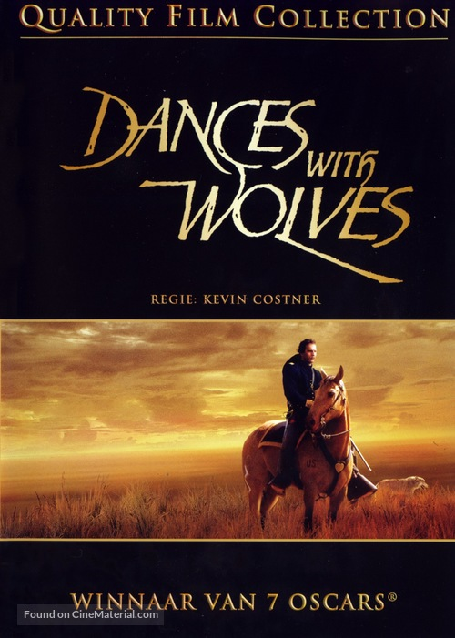 Dances with Wolves - Swedish DVD cover