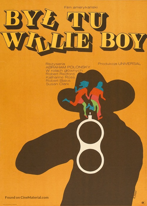 Tell Them Willie Boy Is Here - Polish Movie Poster