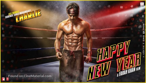 Happy New Year - Indian Movie Poster