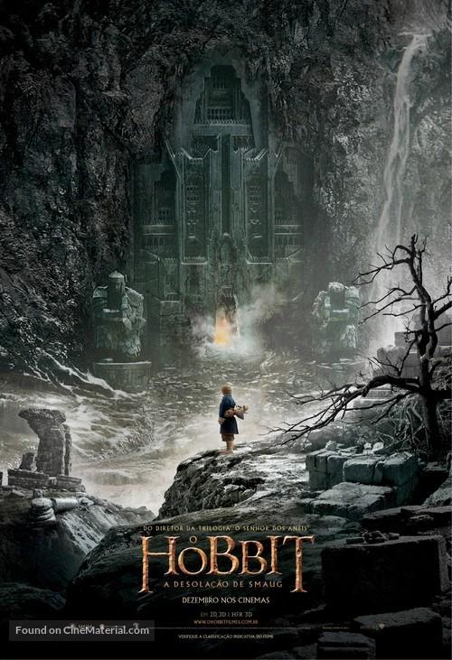 The Hobbit: The Desolation of Smaug - Brazilian Movie Poster