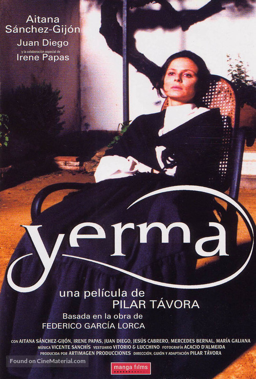 Yerma - Spanish Movie Cover