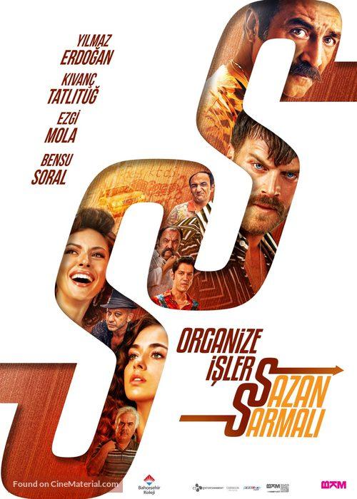 Organize Isler: Sazan Sarmali - Turkish Movie Poster
