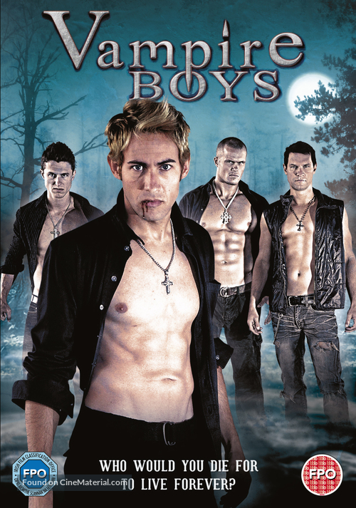 Vampire Boys - British DVD cover