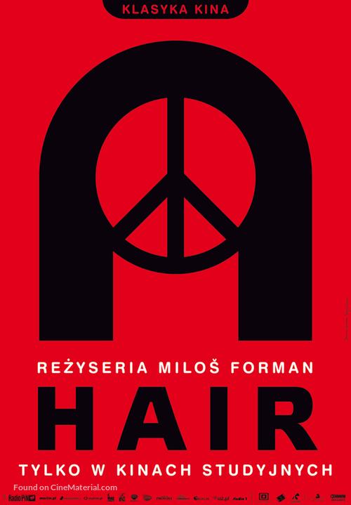 Hair - Polish Movie Poster