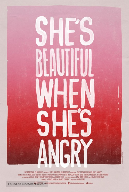 She's Beautiful When She's Angry - Movie Poster