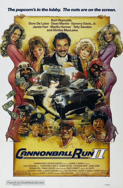 Cannonball Run 2 - Movie Poster