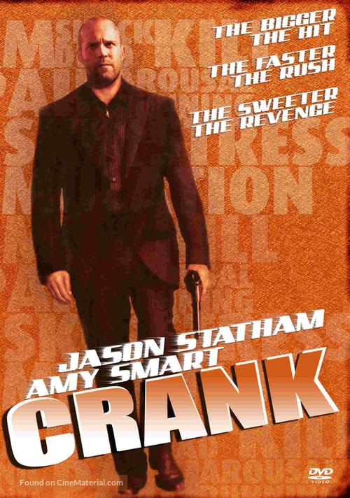 Crank - DVD movie cover