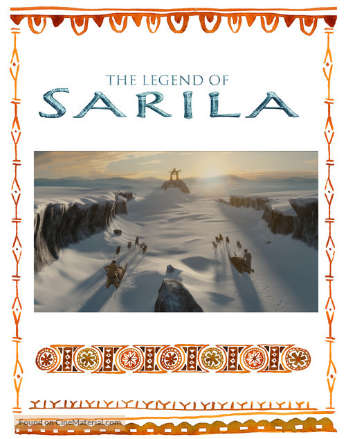 The legend of Sarila/La légende de Sarila - Canadian Movie Poster