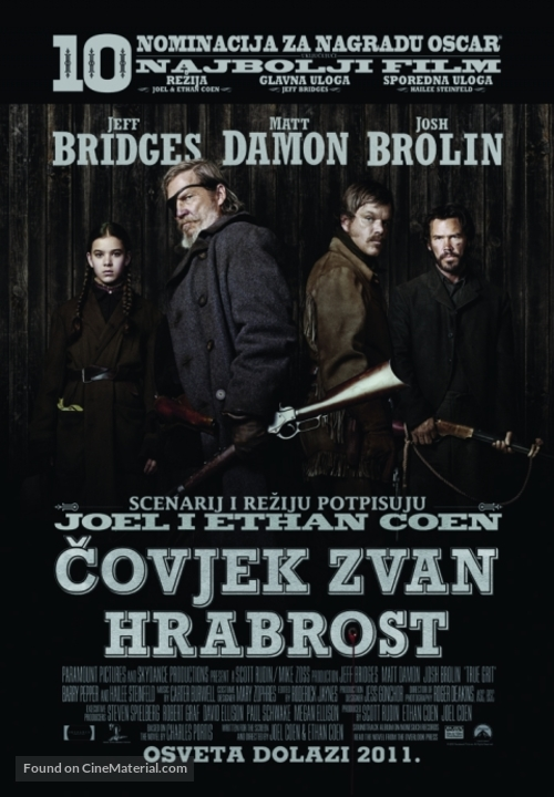 True Grit - Croatian Movie Poster
