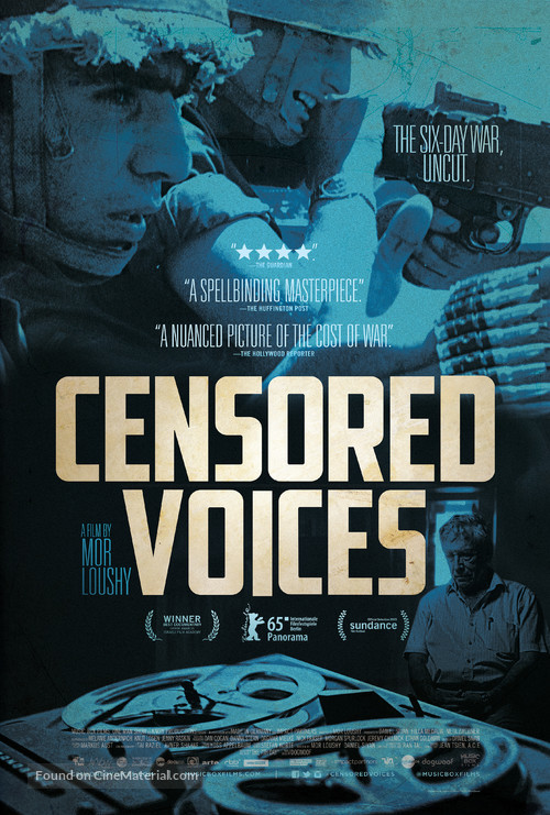 Censored Voices - Movie Poster