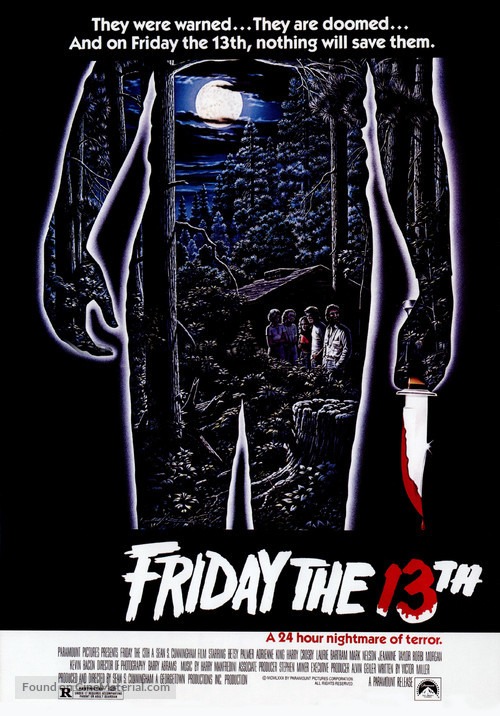 Friday the 13th - Movie Poster