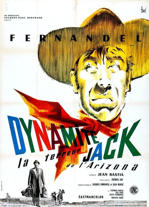 Dynamite Jack - French Movie Poster
