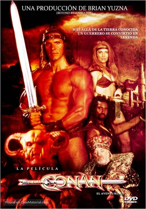 """Conan"" - Spanish DVD movie cover"