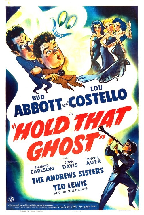 Hold That Ghost - Movie Poster