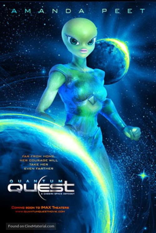 Quantum Quest: A Cassini Space Odyssey - Movie Poster