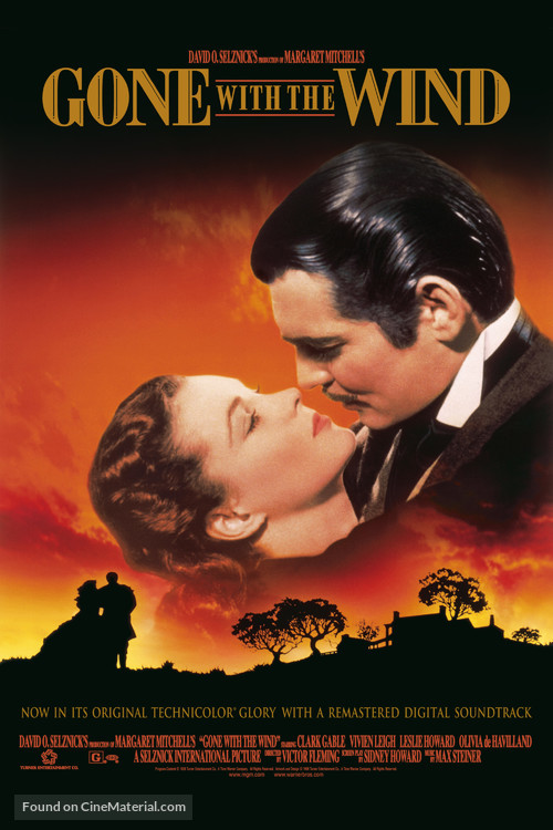 Gone with the Wind - Re-release poster