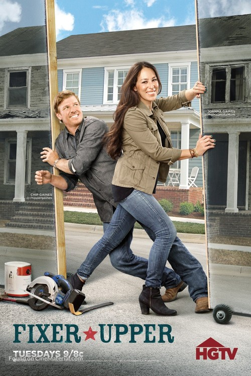 """Fixer Upper"" - Movie Poster"