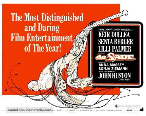 De Sade - British Movie Poster