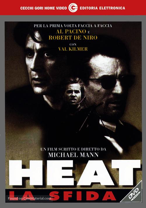 Heat - Italian DVD cover