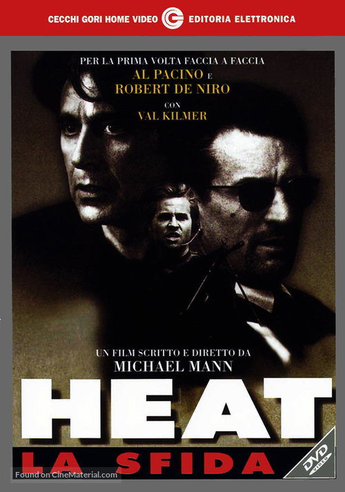 Heat - Italian DVD movie cover