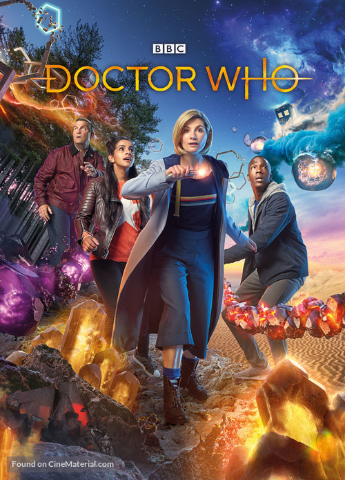 """Doctor Who"" - British Movie Poster"