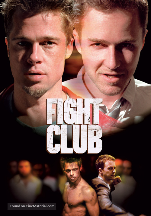 Fight Club - DVD cover