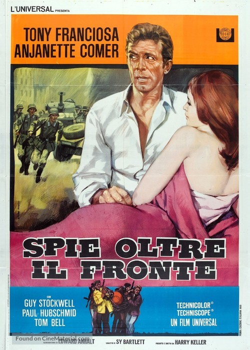 In Enemy Country - Italian Movie Poster