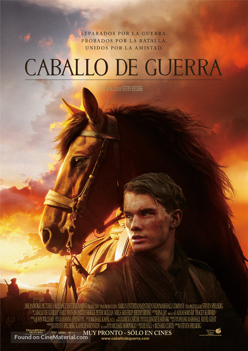 War Horse - Mexican Movie Poster