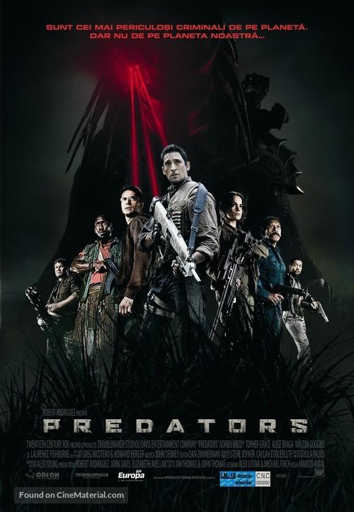 Predators - Romanian Movie Poster
