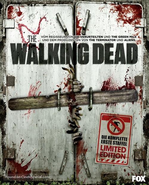 """The Walking Dead"" - German Blu-Ray cover"