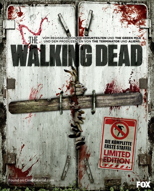 """The Walking Dead"" - German Blu-Ray movie cover"