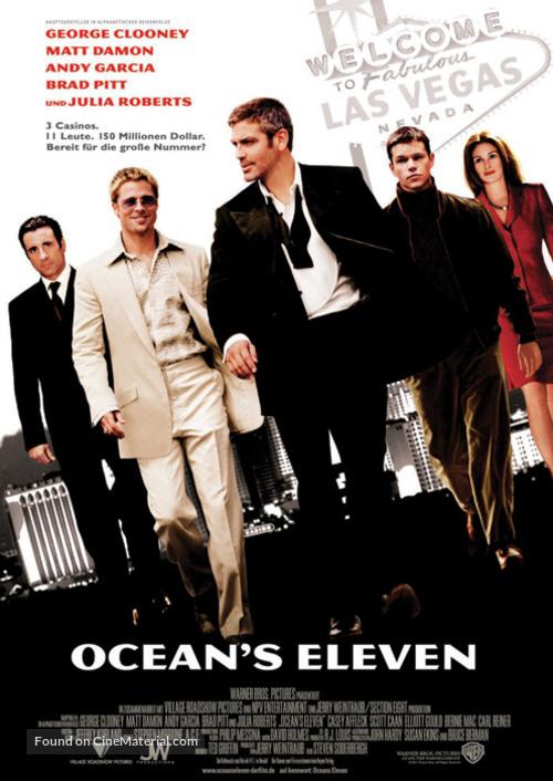 Ocean's Eleven - German Movie Poster