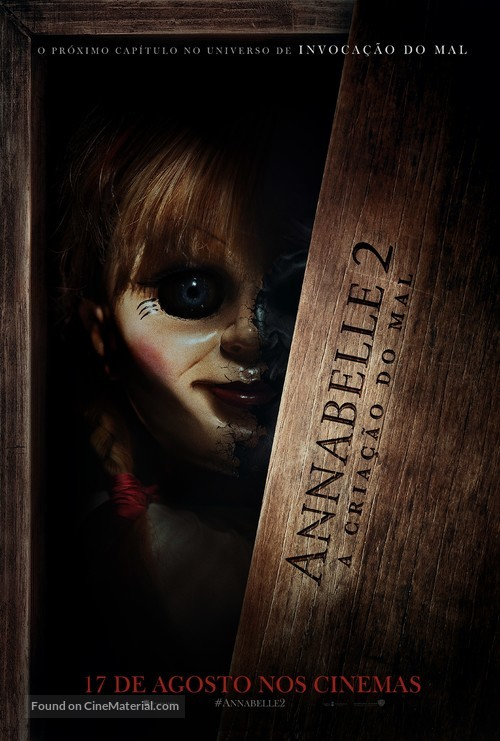 Annabelle: Creation - Brazilian Movie Poster