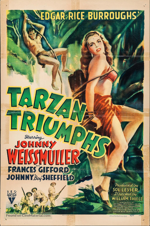 Tarzan Triumphs - Movie Poster