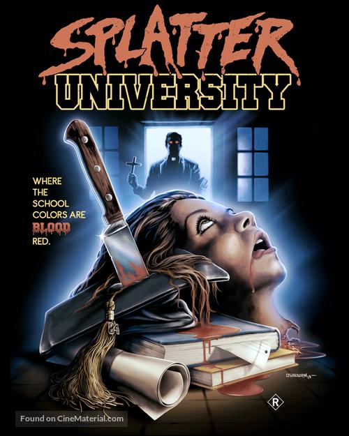 Splatter University - Australian Movie Poster