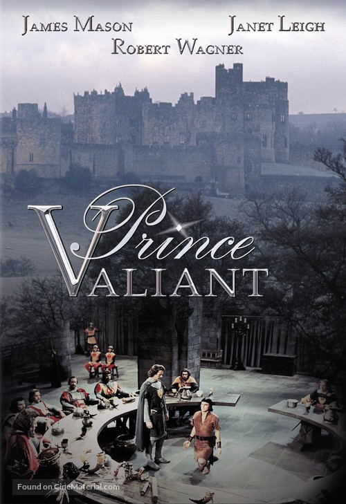 Prince Valiant - DVD movie cover