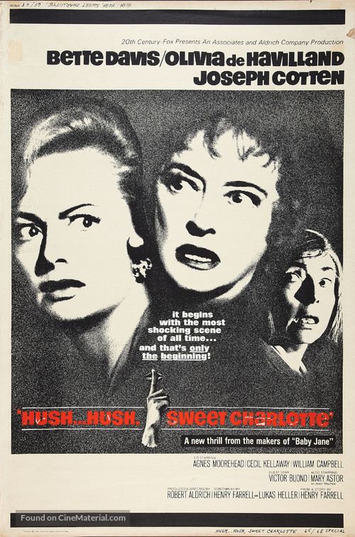 Hush... Hush, Sweet Charlotte - Movie Poster
