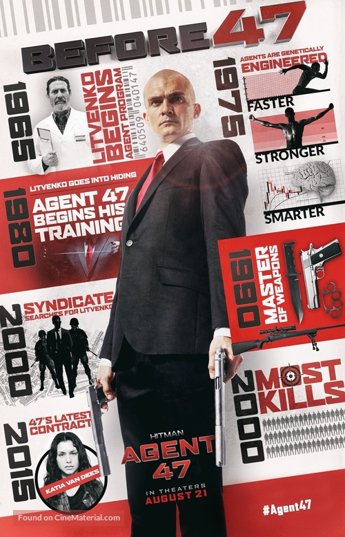 Hitman Agent 47 2015 Movie Poster