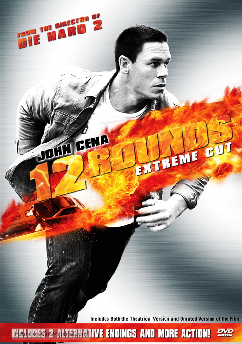 12 Rounds - DVD cover