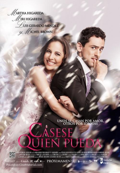 Cásese quien pueda - Mexican Movie Poster