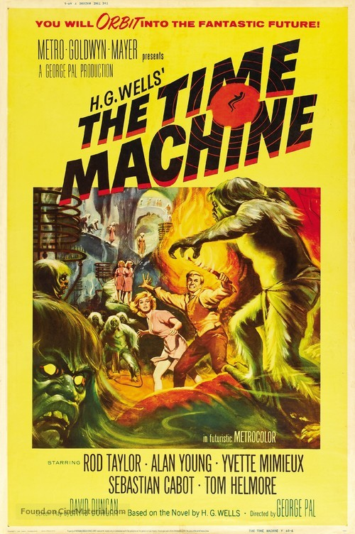 The Time Machine - Movie Poster