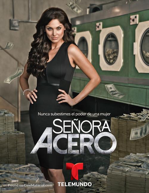 """""""Señora Acero"""" - Mexican Movie Poster"""