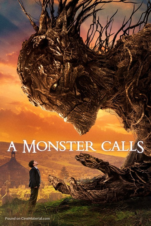 A Monster Calls - British Movie Cover