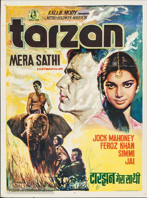 Tarzan Goes to India - Indian Movie Poster