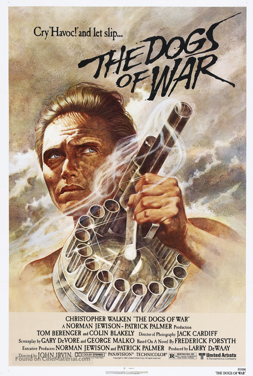 The Dogs of War - Movie Poster