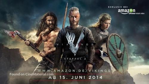 """""""Vikings"""" - German Movie Poster"""