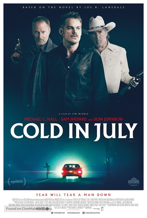 Cold in July - British Movie Poster