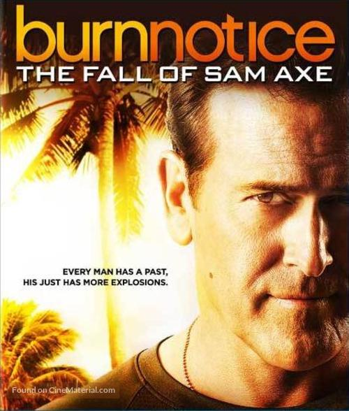 """Burn Notice"" - Blu-Ray movie cover"