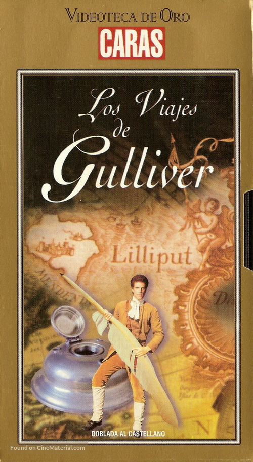 Gulliver's Travels - Argentinian VHS cover